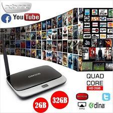 CS918 2GB 32GB WIFI Bluetooth 1080P Media Quad Core Android 4.4 Smart Set TV BOX