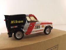 JEMMPY FRANCEn° 012 Pajero Dakar 1985 neuf mint boite kit résine monté 1/43