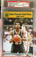 2003 Saint Vincent Mary High School LeBron James ROOKIE RC #2A PSA 10 GEM Mint