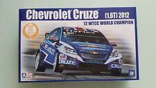 Chevrolet Cruze 1.6T 2012 WTCC Champion 1:24 Model Kit Beemax Aoshima 082997