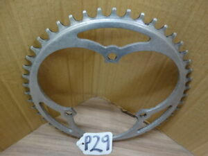 LYTALOY CHAINRING  49t 1/8th USED 30% WORN 116 BCD              (P29)#
