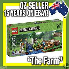 """LEGO 21114 MINECRAFT """"The Farm"""" Micro World RARE Mine Craft Biome * IN STOCK! *"""