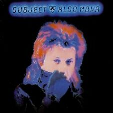 Aldo Nova - Subject;Aldo Nova (NEW CD)