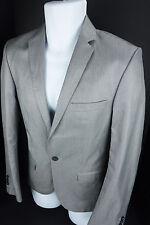 Zara Man Sport Coat Blazer EUR 46, US 36 Silk Blend Suit Jacket Modern Slim Fit