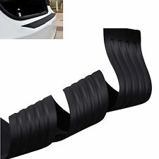 Black Rubber Rear bumper protector Car Guard Body Scratch Protector Trim Cover