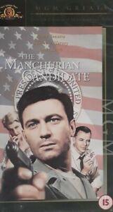 The Manchurian Candidate Vhs Video.1962 Movie.Dir John Frankenheimer.Sinatra Etc