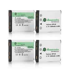 4x NP-45 NP-45A Batteries For Fujifilm Fuji FinePix XP50 XP60 XP70 T550 J100