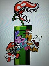 "Super Mario & Koopa Troopa Graffiti Bombing Decal Sticker 8.6""X 5.1"" Nintendo"