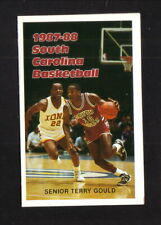 South Carolina Gamecocks--1987-88 Basketball Pocket Schedule