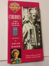 Doctor Who Cybermen The Early Years Vhs Video Tape Collectors Edition
