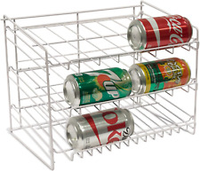 New listing Can Rack Pantry Organizer Kitchen Cabinet Shelf Canned Food Soup Storage Holder
