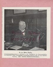 1916, Bildnis Fotografie Dr. jur. Peter Spahn WWI