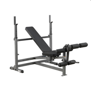 Body Solid Power Center - Combo Bench - Multi Use Gym Setup - Fitness SALE