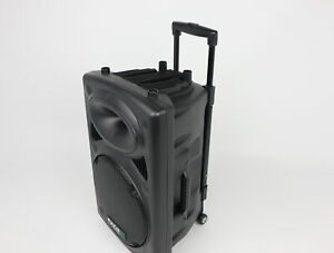 Lautsprecher Ibiza Port12VHF-BT mobile 30cm  Akku PA DJ Karaoke Anlage MP3