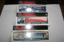 LIONEL #' 6-12811,12865,AND 12891 THREE TRACTOR TRAILERS NEW