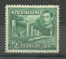 Cyprus 1938 Sg 152, 1/2pi Lightly Mounted Mint [1167]