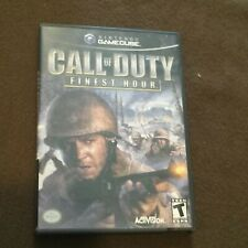 Nintendo Gamecube Video Game Call of Duty Finest Hour Rated T