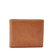 Fossil Men's Leather RFID Protected Coby Traveler Flip ID Wallet Cognac