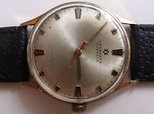 """""""JUNGHANS""""-17jew GOLD PLATED GERMANY WRIST WATCH"""