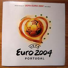Briefmarkenmappe UEFA Euro 2004 aus Portugal!