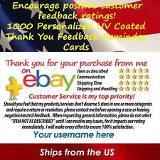 Business card printing services ebay 1000 uv gloss ebay seller custom 5 star dsr reminder thank you business cards colourmoves