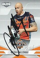 ✺Signed✺ 2013 WESTS TIGERS NRL Card KEITH GALLOWAY