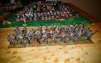 28mm napoleonic brunswick  infantry x 30 figures