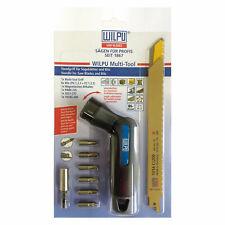 WILPU 11-tlg. Multi-Tool Set inkl. 3 Säbelsägeblätter, 6 Torx Bits und Bithalter