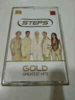 GOLD GREATEST HITS STEP  2002 RARE orig CASSETTE TAPE INDIA indian