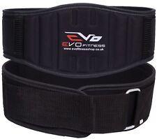 EVO Weight lifting Gym belts Neoprene GEL Back Support Straps Wraps Waist Train