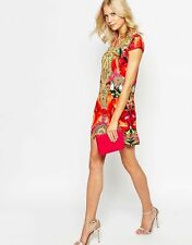 "Ted Baker ""Aalia Toucan' Print Tunic Dress ( Size 2-  6 US)"