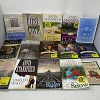 Lot of 15 Anita Stansfield Books PB Romance Novels LDS Shadows of Brierley More!