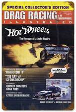 Drag Race Hot Wheels Mongoose Tom McEwen Metal Sign Man Cave Garage Shop TMC001