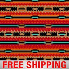 "Native American Fleece Fabric Crimson Arrow 60"" Wide Free Shipping AA 40993-"
