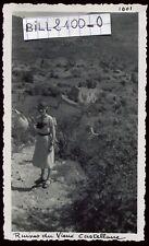 Castellane . le Vieux Castellane  . photo ancienne . Septembre 1946