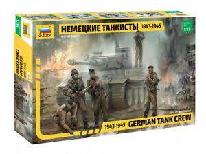 German Tank Crew 1943-19453614 Zvezda  1:35 New!