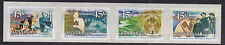 1999 Snowy Mountains Scheme 50th Anniversary- Strip of 4 P&S Stamps