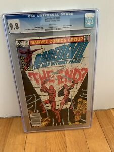 Daredevil #175 CGC 9.8 White Pages NEWSSTAND Edition NM/Mint