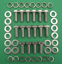 SB V8 FORD 289-302 / 351W exhaust headers stainless steel hex head bolt kit