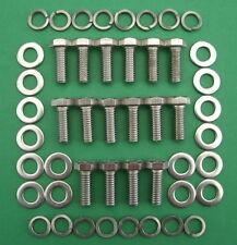 SB V8 FORD 289-302 exhaust headers stainless steel hex head bolt kit