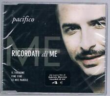 PACIFICO RICORDATI DI ME CD SINGOLO cds SIGILLATO!!!