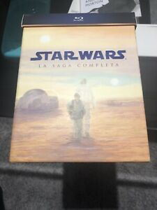 Cofanetto 9 Blu-Ray Star Wars La saga completa nuovo sigillato