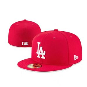Los Angeles Dodgers LAD MLB Authentic New Era 59FIFTY Fitted Cap 5950 Hat