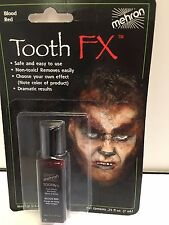 Tooth FX blood effect fancy dress stage makeup New warewolf look halloween
