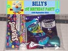 "12 Personalised Birthday Party Lolly / Loot Bags with ""Hoot"" Giggle & Hoot Print"