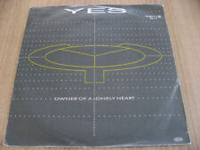 YES Owner Of A Lonely Heart / Our Song 7inch PROG ROCK KING CRIMSON GENESIS ASIA