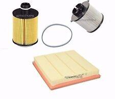 Pour vauxhall astra MK6 j 1.3 cdti 95BHP service kit huile/air/filtre a gasoil 09 > sur