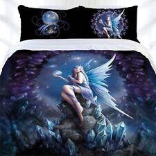 Anne Stokes Stargazer Gothic Fairies Queen Size Doona Duvet Quilt Cover Set