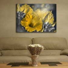 Glass Picture Toughened Wall Art Unique Modern Decor Abstract Flowers Any Size