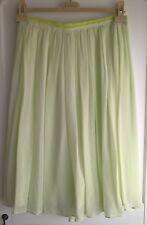 Jupe TuaNua en soié Verte Taille 40